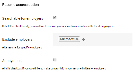 Exclude-employer-job-board-software-feature