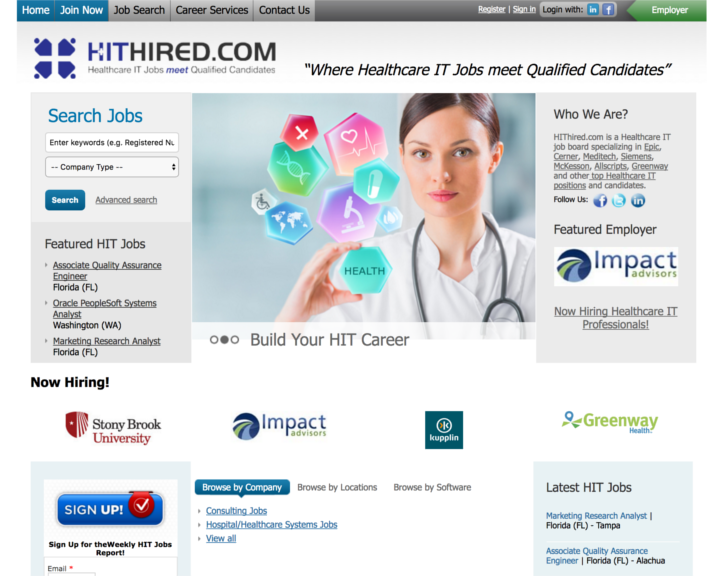 job board software client HitHired