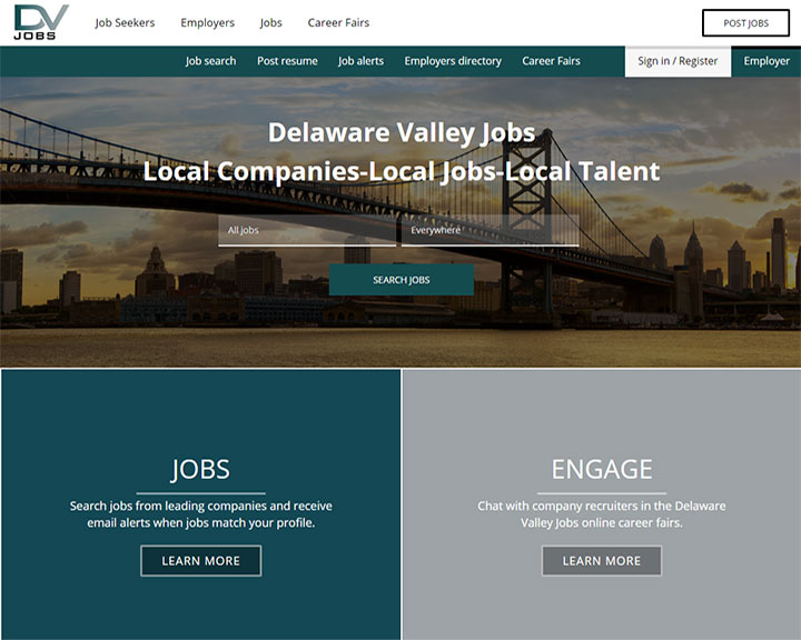 job board software client Delawarevalleyjobs