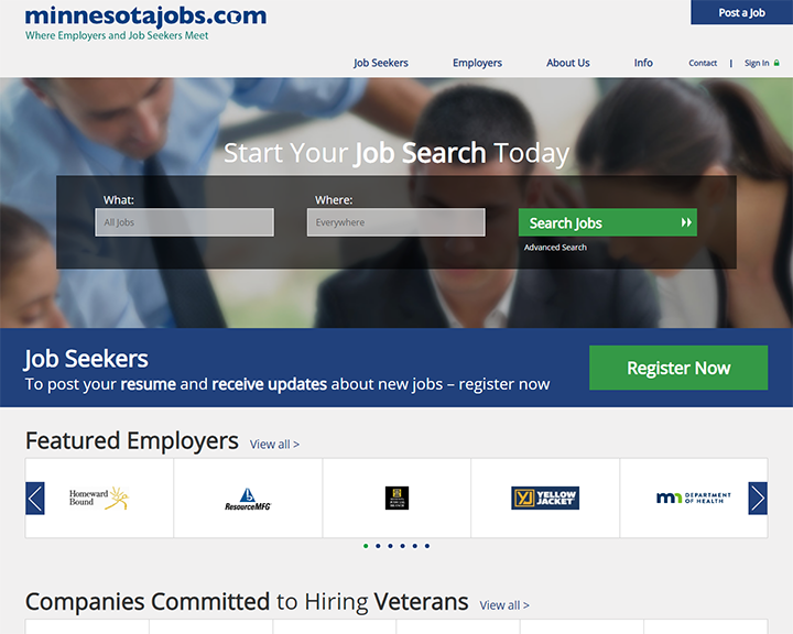 job board software client MinnesotaJobs