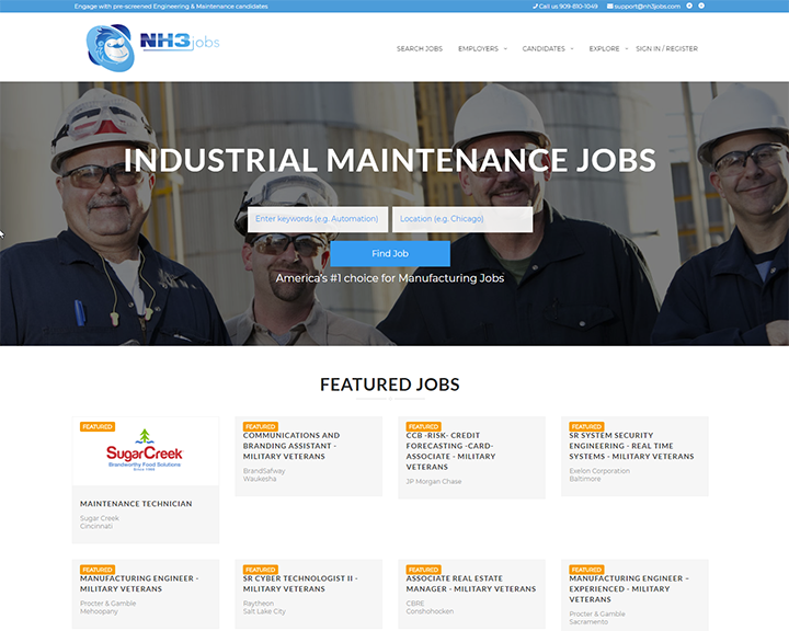 job board software client NH3Jobs