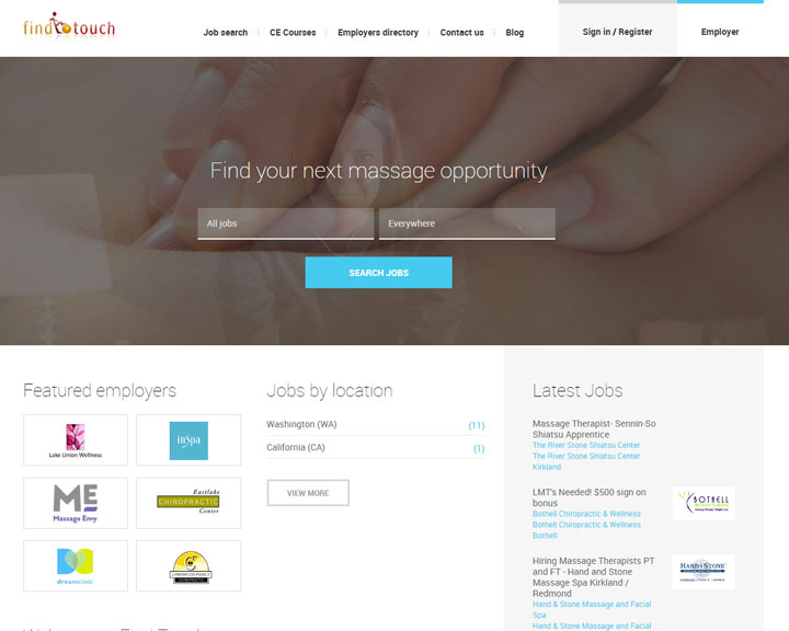 job board software client Findtouch